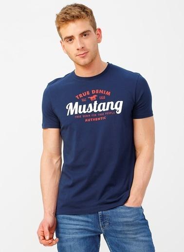 Mustang Tişört Lacivert